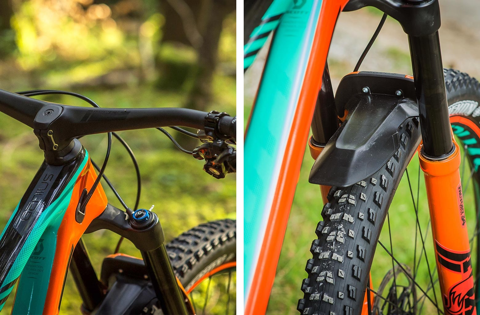At 290g, the Hixon bar/stem is lighter than some  regular handlebars.