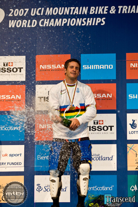 Brian Lopes - One of many podiums