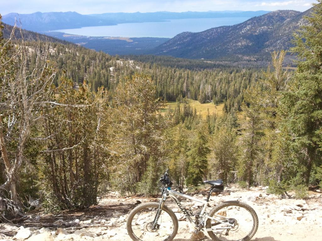 A Fine Plan Indeed - Wheeler Pass to Miners Creek Trail TR-tahoerimtrail.jpg