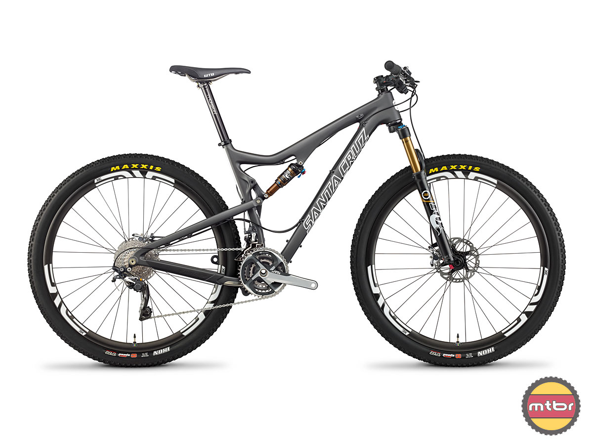 Tallboy 2 Carbon Black Profile