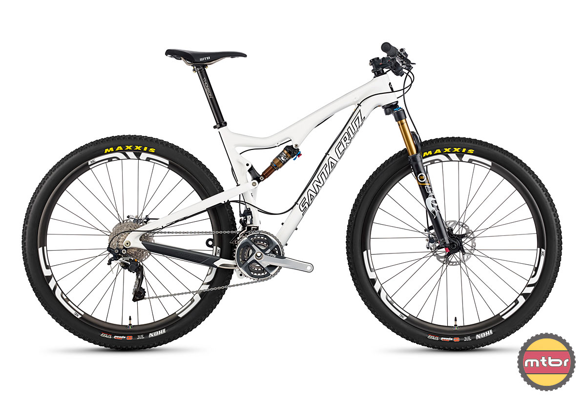 Tallboy 2 Carbon White Profile
