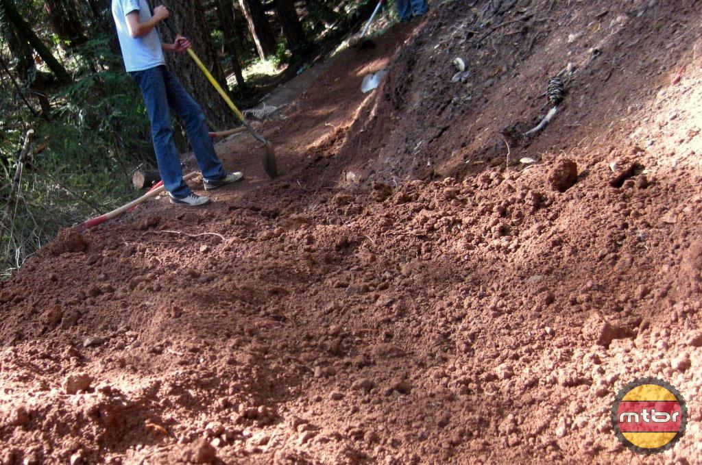 Tamarancho Flow Trail fresh dig