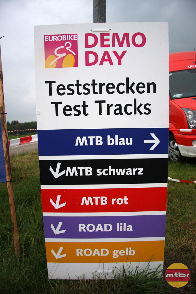 Test Tracks