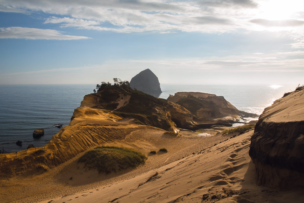 There is 363 miles of Oregon coastline and it's free and open to all to explore.