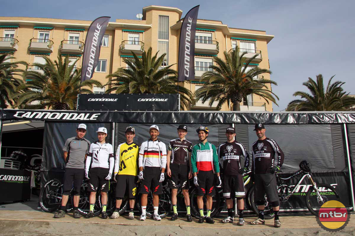 The Entire Cannondale MTB Team