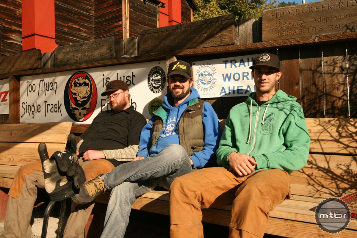 The core Yuba Expeditions crew – Jon Palmer, Mason Werner and Jake Helm.