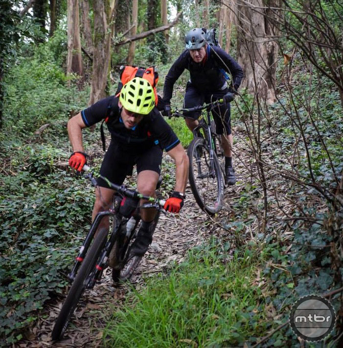 """The rear Trail 29 wheel endured the abuse of Downieville and the 420-mile """"Commute"""" from Tahoe to San Francisco without ever coming out of true. Photo by : James Adamson – Dropmedia.tv"""