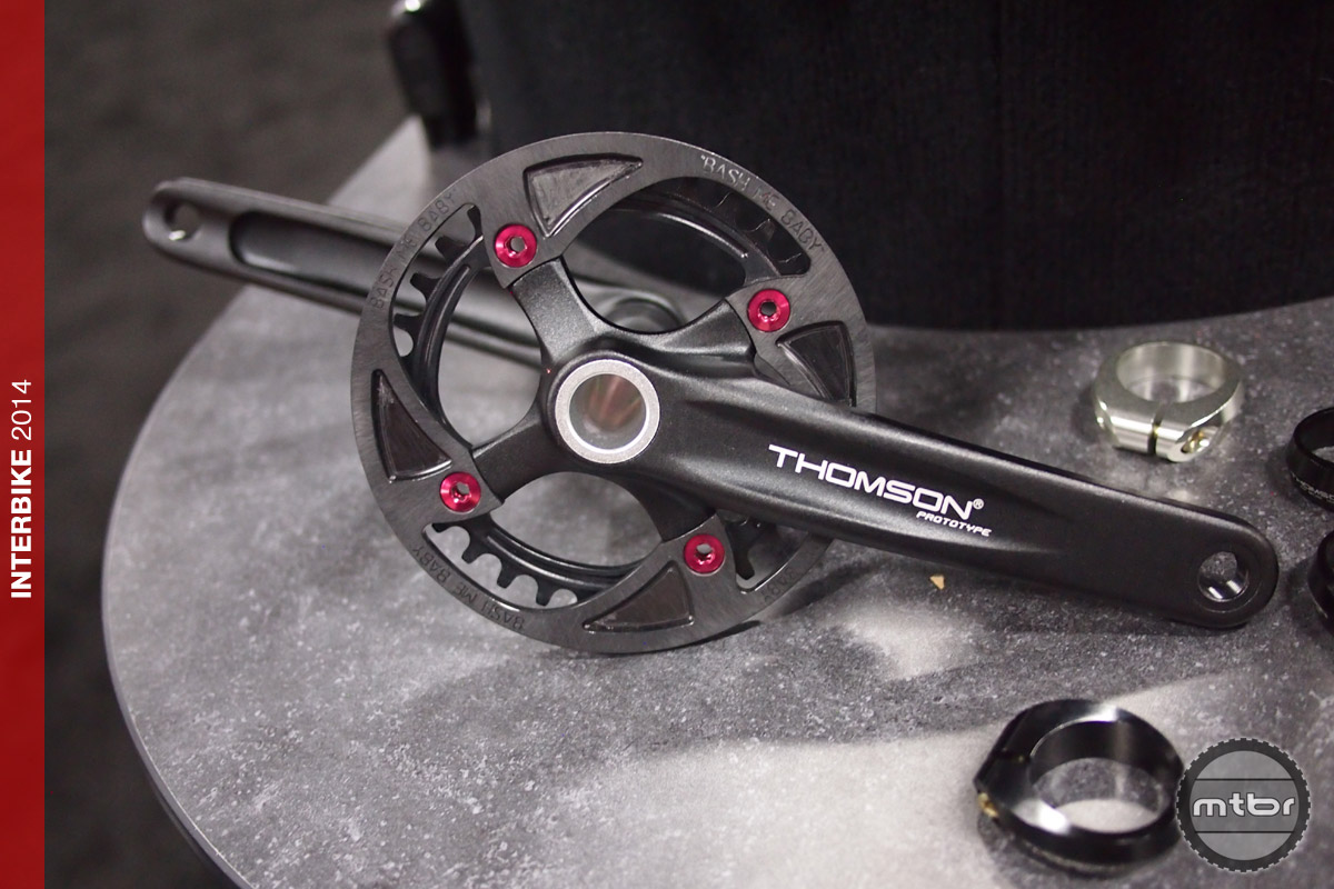 Thomson - prototype singlespeed cranks