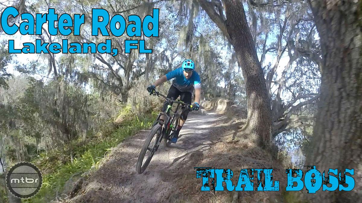 Jeff Lenosky Trail Boss Series tackles Florida's Carter Road