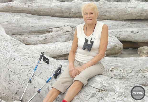 Tineke Kraal of Vancouver has been handed a suspended sentence and placed on three years probation for sabotaging North Shore mountain bike trails.