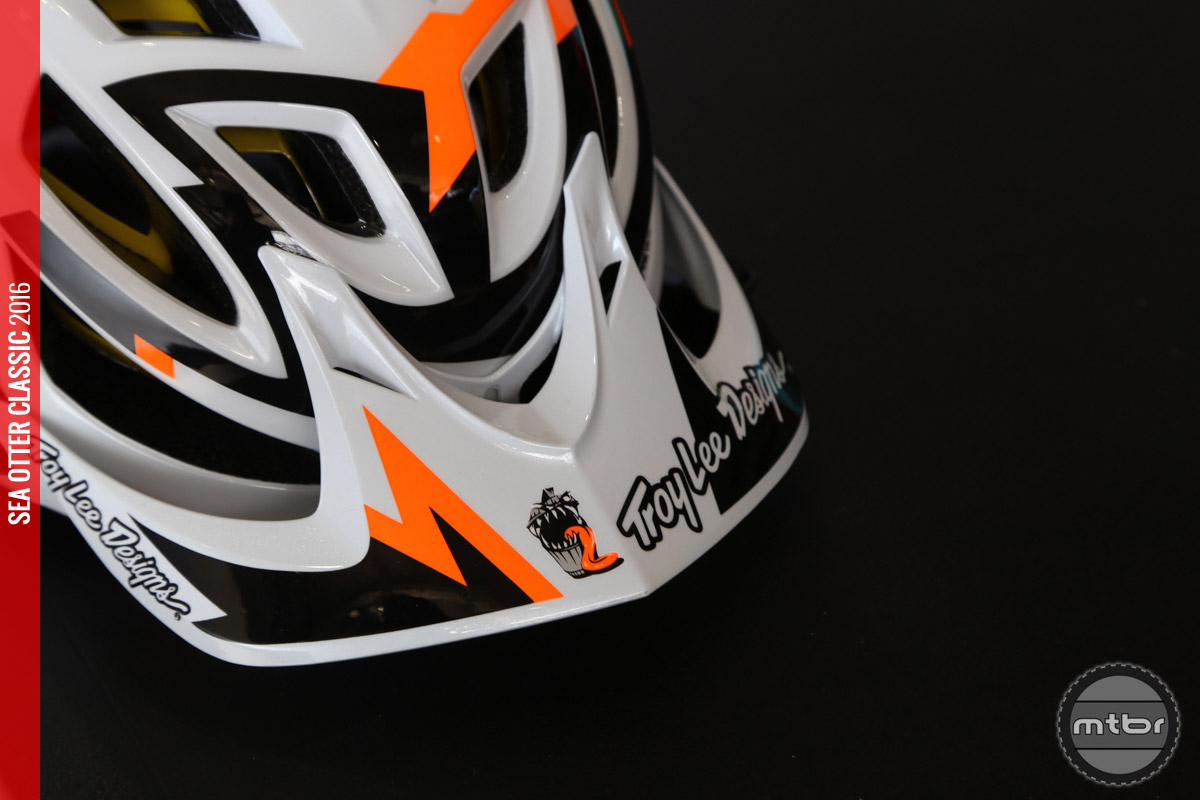 TLD has already announced their 2016 product line, so this MIPS equipped helmet may just be a prototype that Troy and his team are testing.