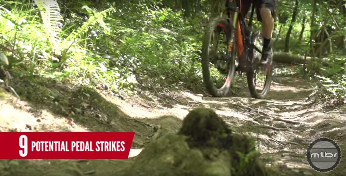 Top Ten Common MTB Mistakes Avoiding Pedal Strikes