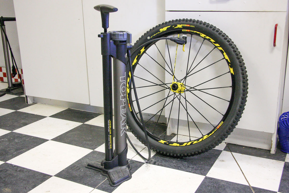 It's not cheap and it's a little on the expensive side, but for our money the Topeak JoeBlow Booster is worth every penny.