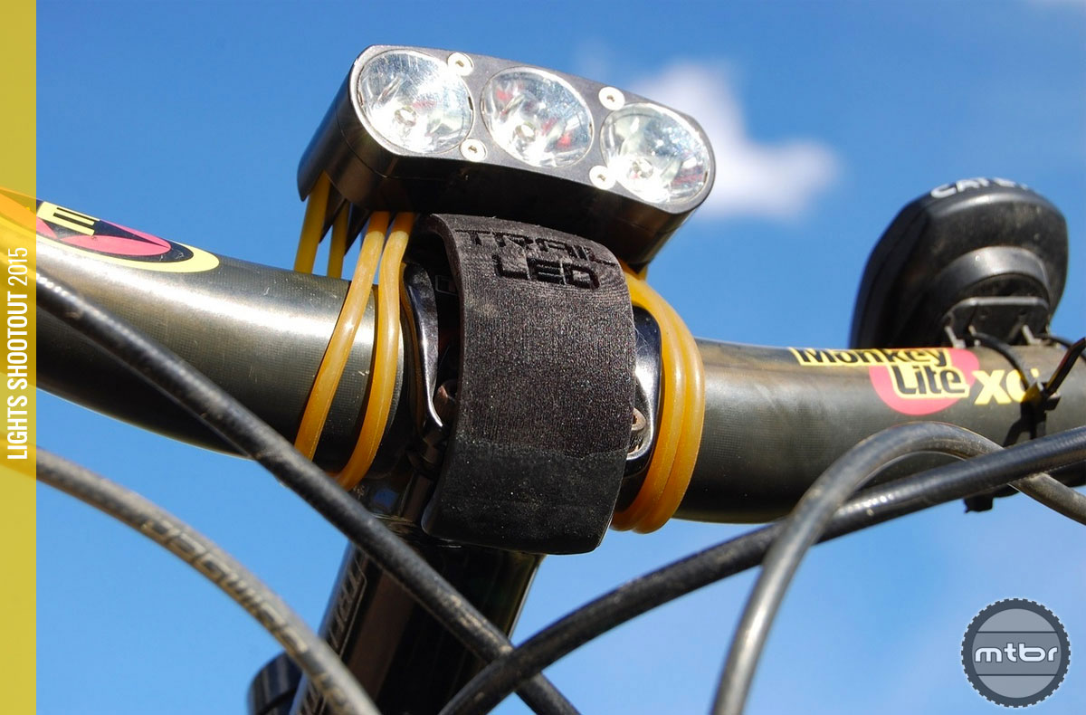 Review: Trail LED DS- Mtbr.com