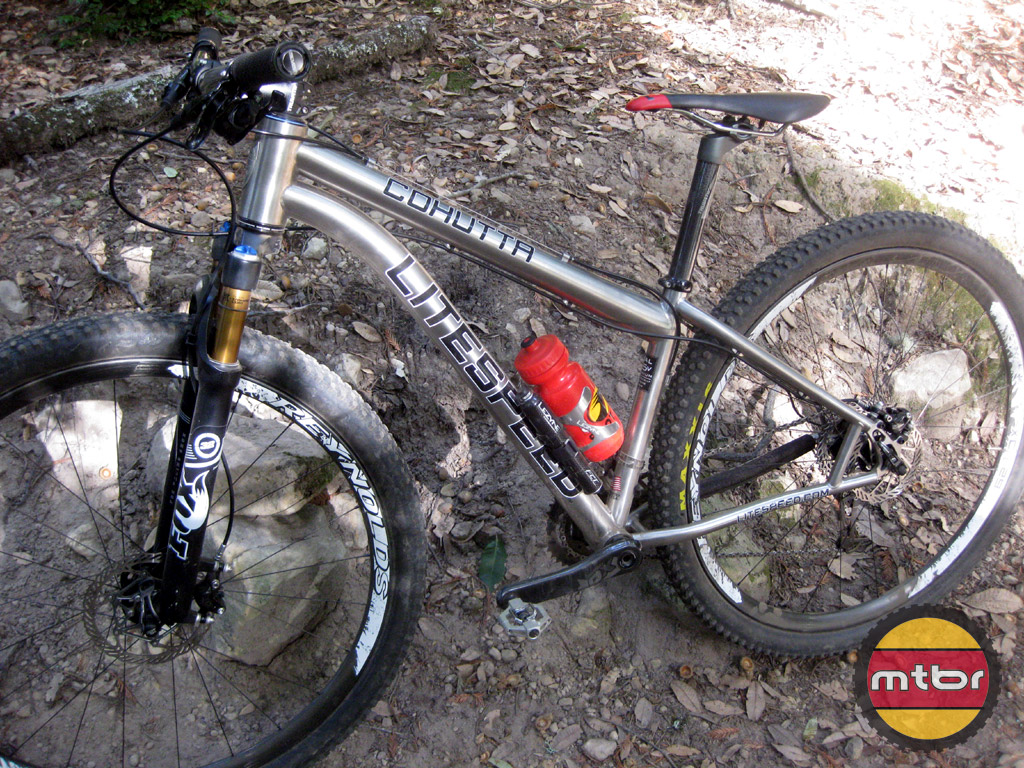 Litespeed Cohutta trail-side-view