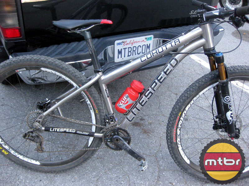 Litespeed Cohutta trail-sideview