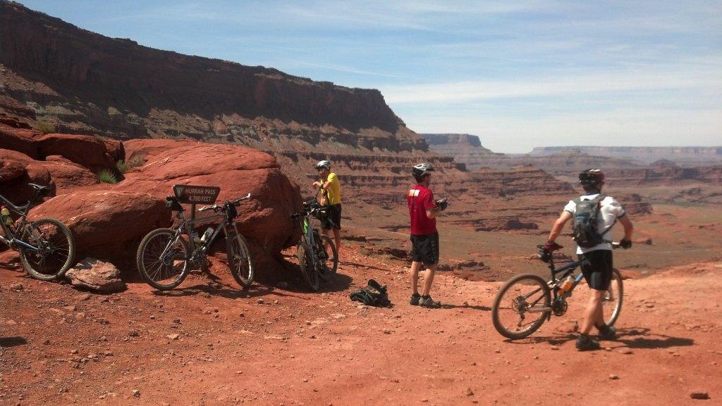 Bike + trail marker pics-trailmarkerhurrah.jpg
