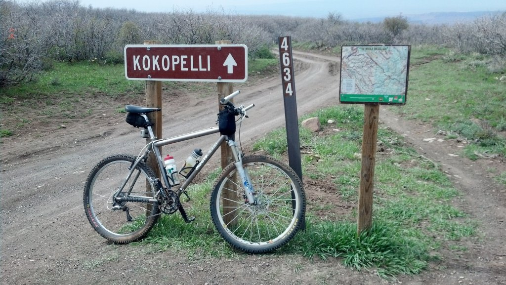 Show us a picture of your 26er MTB that you still use on the trails-trailmarkerkokopelli.jpg