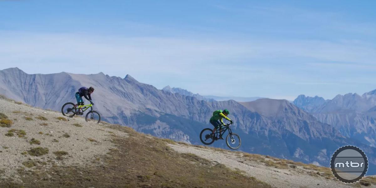 Jérôme Clementz's Trans Alp Adventure