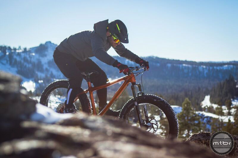 The Trans-Fat is on the sportier, more aggressive end of the fat bike spectrum. Photo by James Adamson – dropmedia.tv