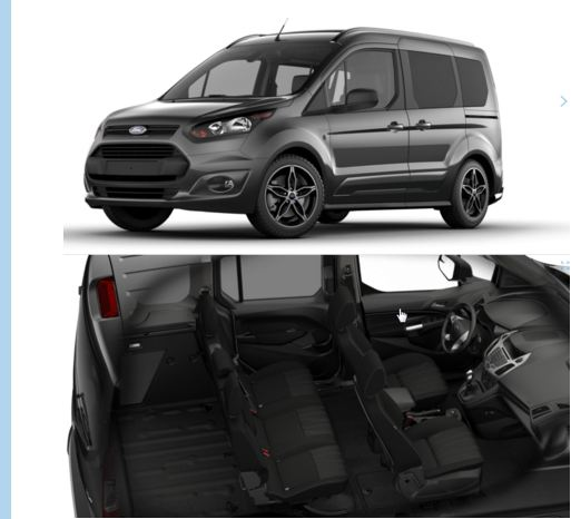 New Ford Transit Connect Van