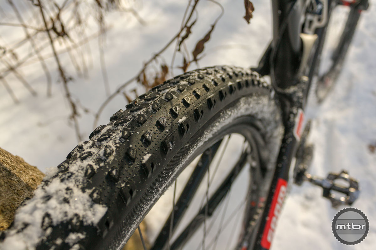 Tread Detail with Snow