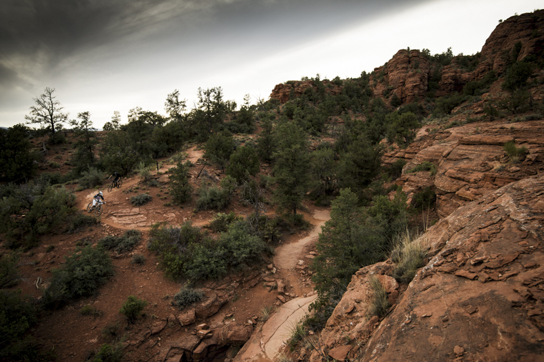 Trek Fuel 29er in Sedona Landscape