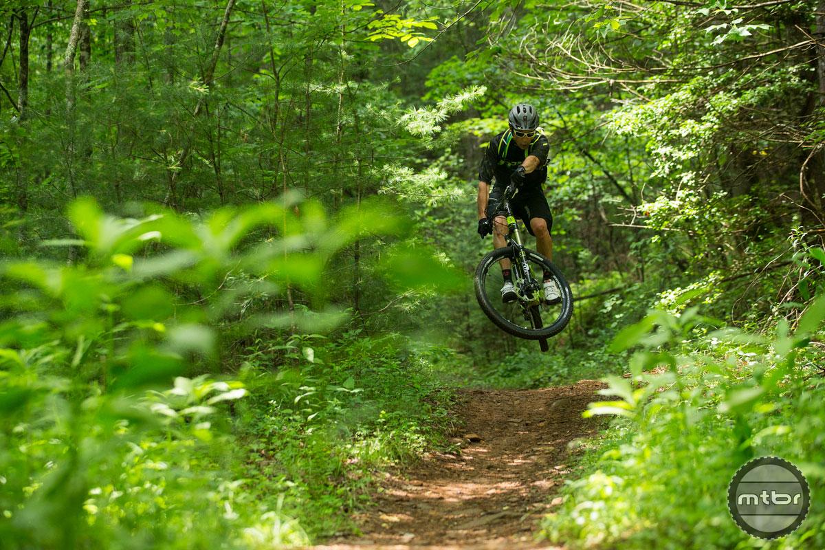 Trek Fuel EX 27.5 in Dupont Forest Jump