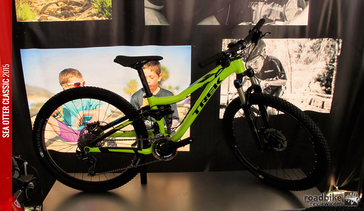 The full-suspension Trek Fuel EX Jr breathes new life into 26ers: now for kids!