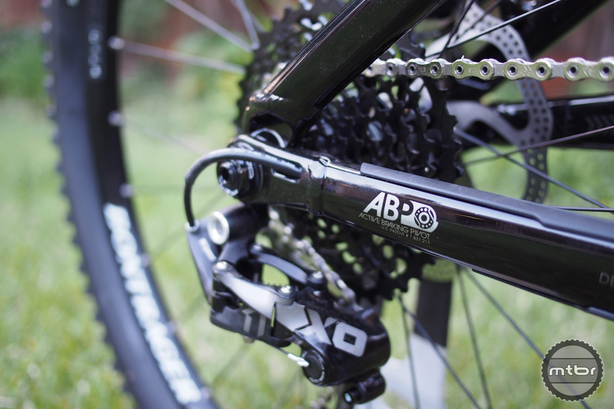 Trek Slash 9 ABP and Internal Der Routing