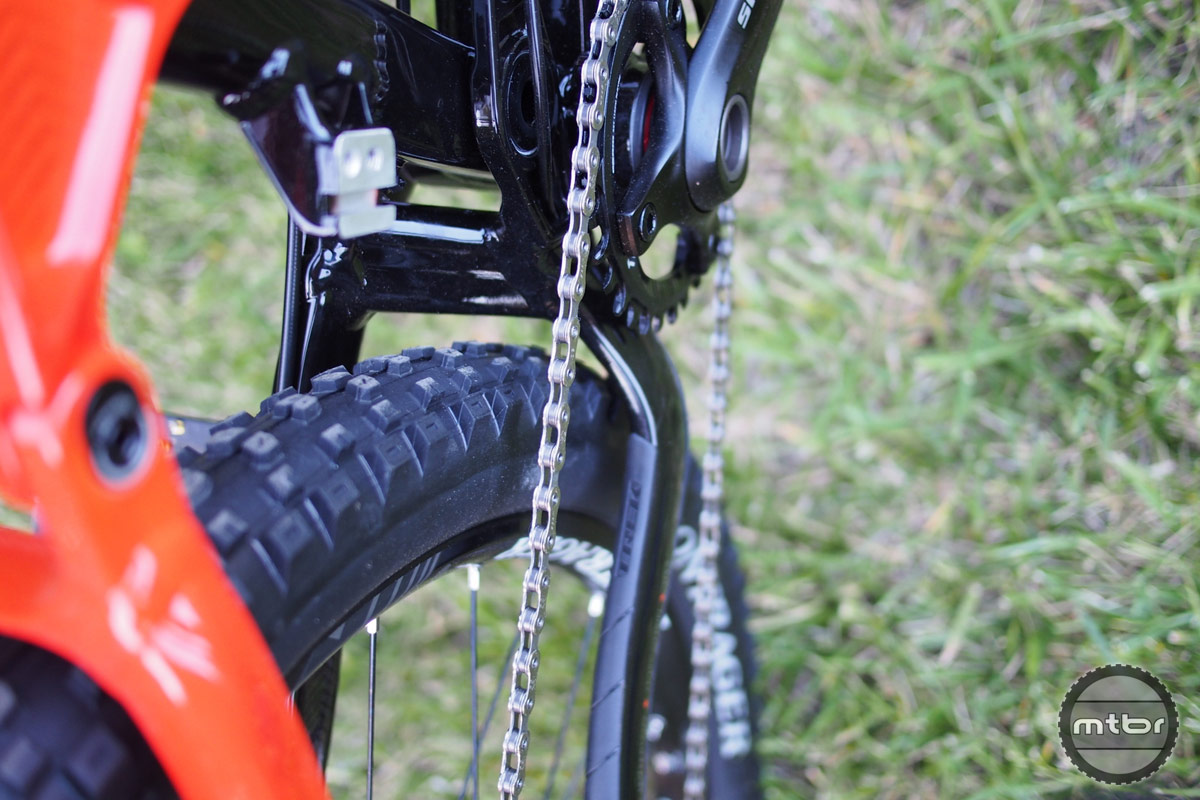 Trek Slash 9 Chainstay Tire Clearance