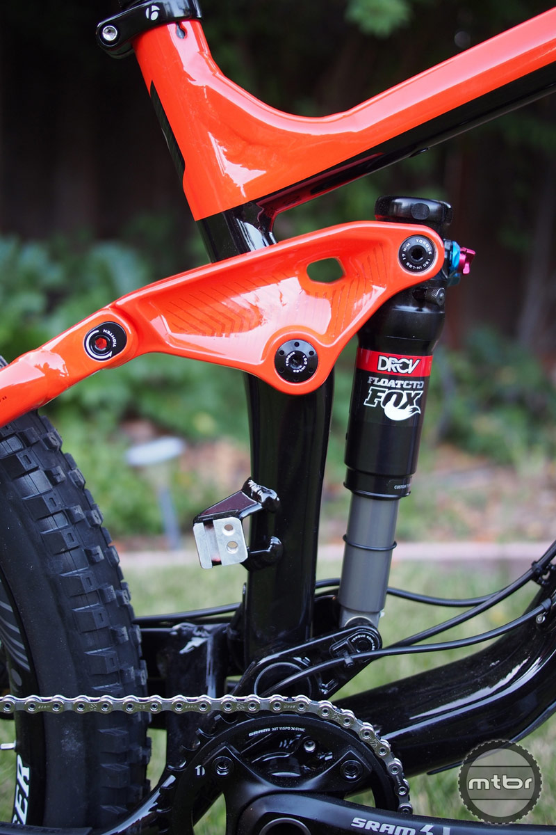 Trek Slash 9 DRCV Shock and Floating Pivot