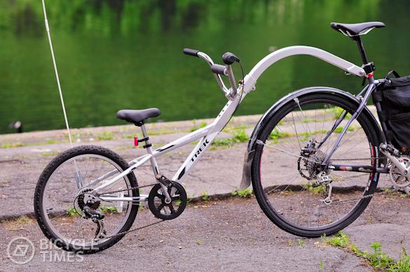 600c2ec1d70 Hmm?-trek- Trek Trailer bike connected to daddy's new Reverb dropper post.  Hmm?-trek-