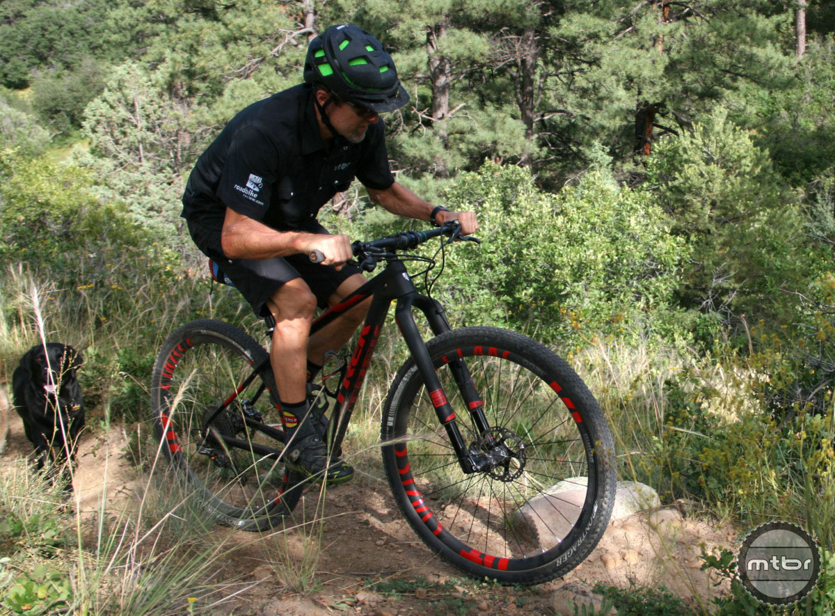 First Ride Review Trek Pro Caliber 9 9 29er Xc Bike
