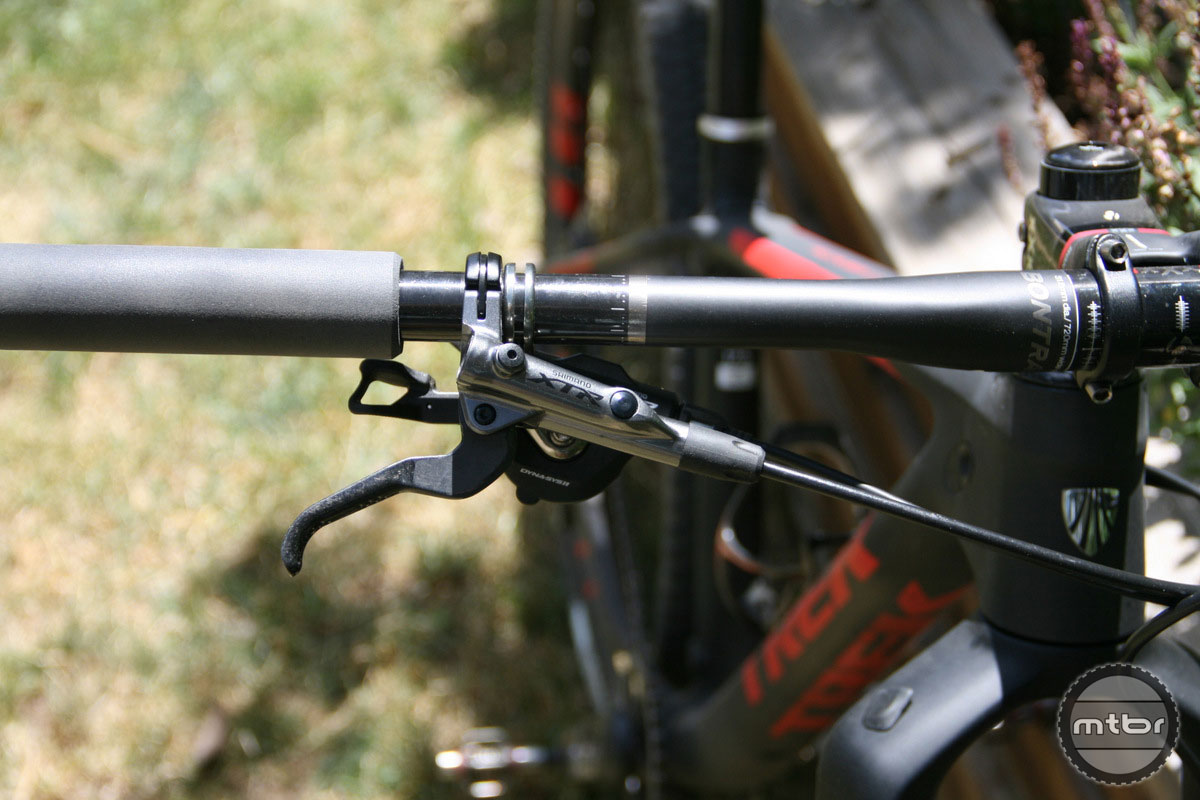Shimano XTR shifting and braking are as good as it gets.