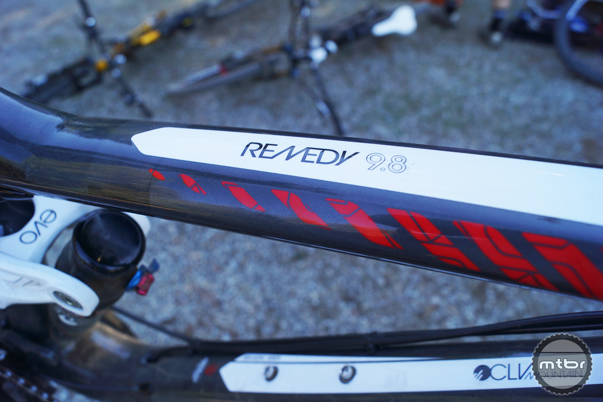 Trek Remedy 9.8 27.5 Front Triangle