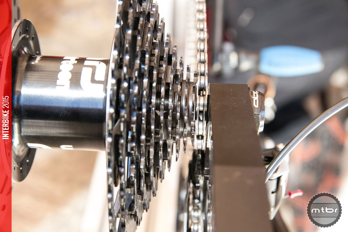 Cassette tooth jumps are closer on the smaller cogs than the large ones.