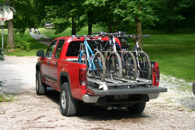 Best Non Front Wheel Removal Bike Rack For Pickup Truck