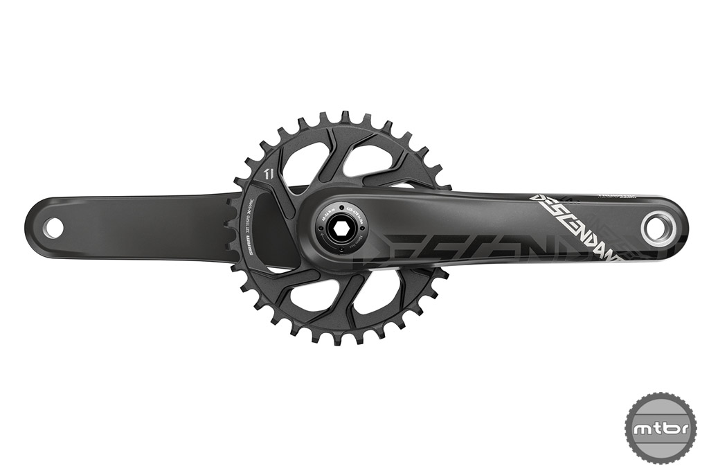 TRUVATIV Descendant Carbon crankset
