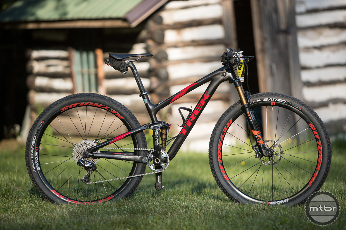 Justin Lindine's Trek Top Fuel