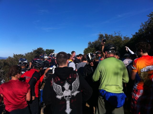 Los Gatos Turkey ride pics-turkeycrowd.jpg