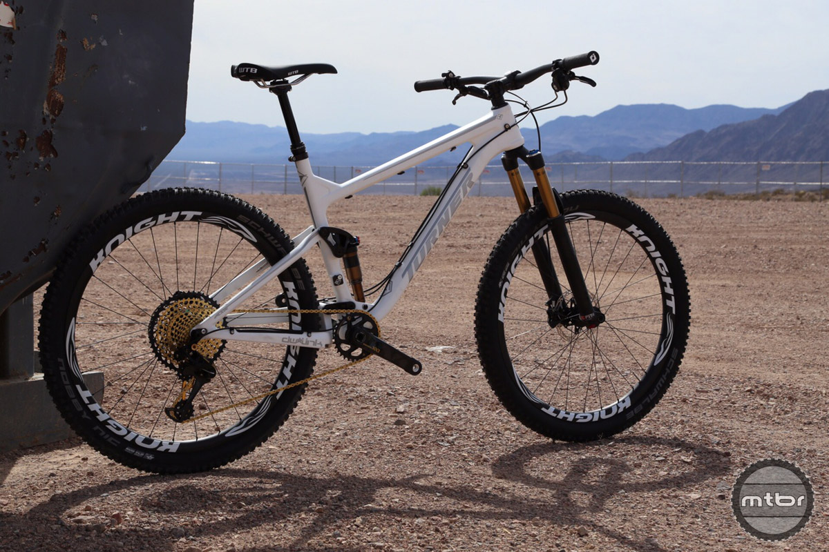 "The new Turner Flux is a lightweight 120mm travel 27.5"" trail bike."
