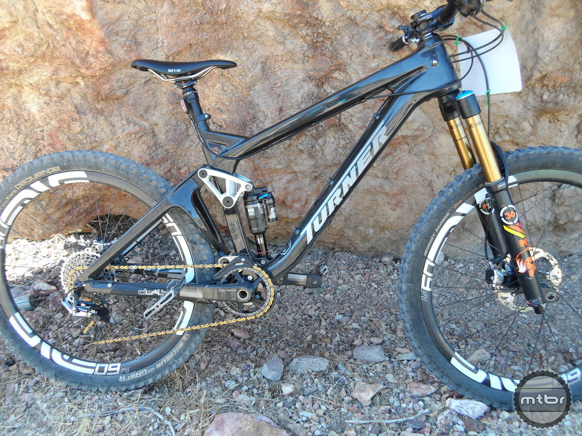 On the trail the bike felt light and nimble and sprinted up short, smoother grade changes with kid-like enthusiasm.