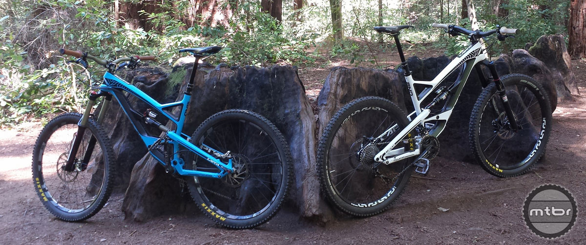 Both bikes we brought back to Santa Cruz.