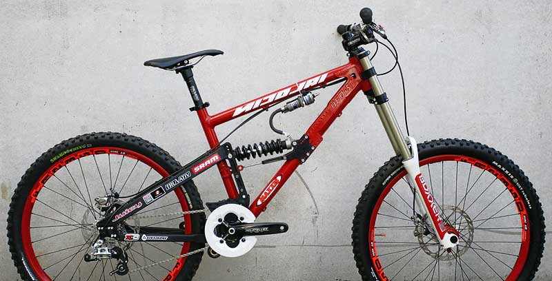Nicolai Saturn 11 alloy mountain bike pairs XC travel frame with ...