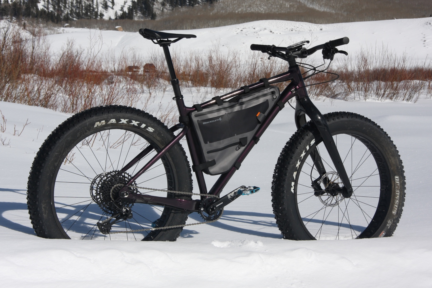 Giant's budget-friendly fat bike has everything you need for a little wintertime fun without breaking the bank. Photo by Jason Sumner