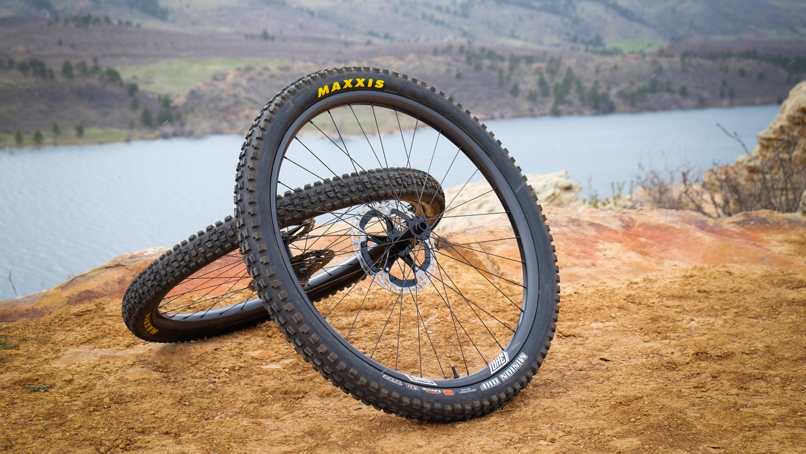 We Are One's Union carbon rims are stiff without being harsh.