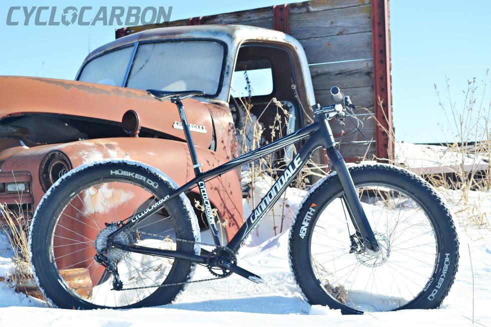 Cannondale Carbon Fatbike Project Mtbr Com