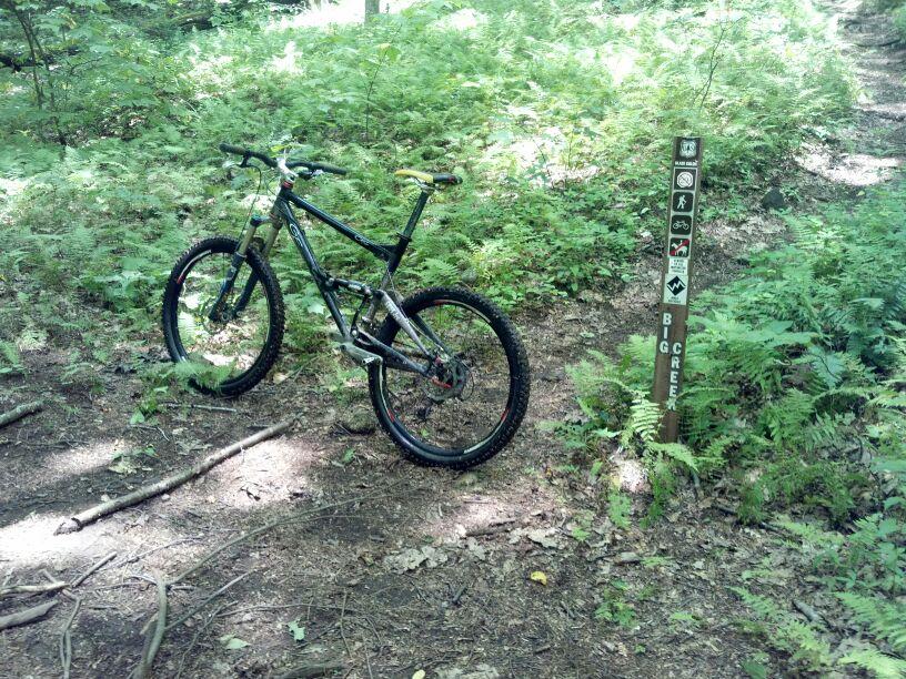 Bike + trail marker pics-uploadfromtaptalk1342790631535.jpg