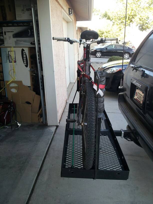 Diy Hitch Bike Rack Diy Project